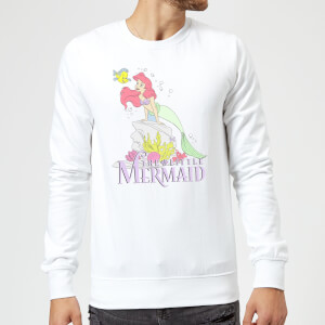 Disney Little Mermaid Sweatshirt - White
