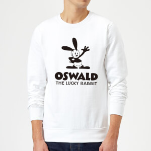 Disney Oswald The Lucky Rabbit Sweatshirt - White