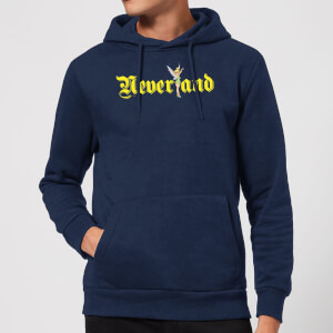 Disney Peter Pan Tinkerbell Neverland Hoodie - Navy
