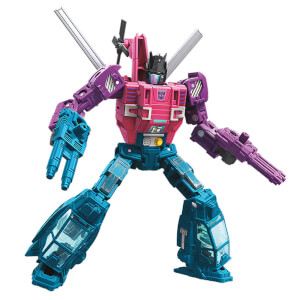 Figurine Spinister WFC-S48 de luxe Transformers Generations War for Cybertron – Hasbro