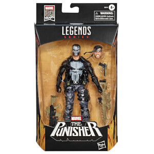 Figura de acción El Castigador (15 cm) - Marvel Legends