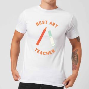 Best Art Teacher Men's T-Shirt - White