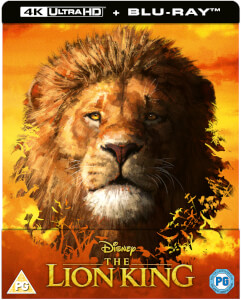 The Lion King (Live Action) - Zavvi UK Exclusive 4K Ultra HD Steelbook (Includes Blu-ray)