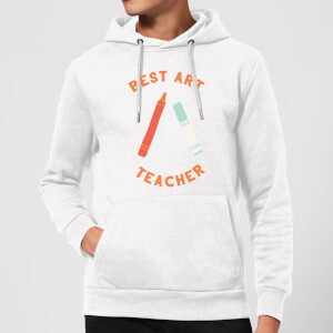 Best Art Teacher Hoodie - White