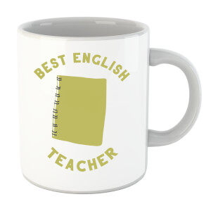 Best English Teacher Mug