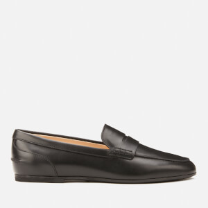 Tod's Women's Gomma Moccasin Shoes - Nero