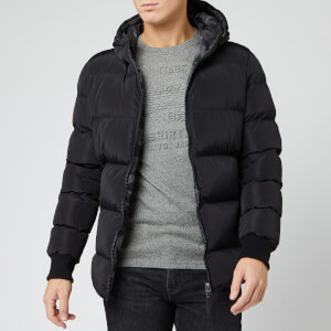 Superdry Men's Converter Puffer Jacket - Black