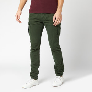 Superdry Men's Surplus Cargo Pants - Emerald Green