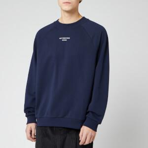 Drôle De Monsieur Men's Slogan Sweatshirt - Navy