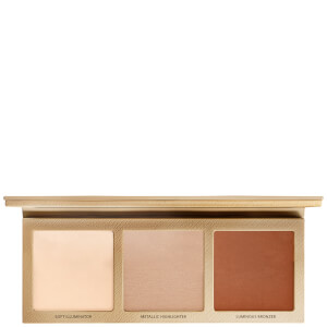 L.O.V The Glowrious Highlighting and Bronzing Palette - 010 Rose Addiction