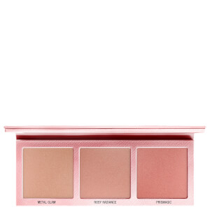 L.O.V The Glowrious Deep Metallic Highlighting Palette - 010 Pink Seduction