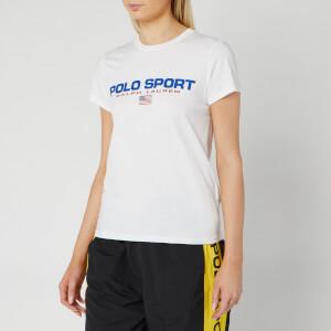 Polo Sport Ralph Lauren Women's Short Sleeve T-Shirt - White