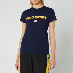Polo Sport Ralph Lauren Women's Short Sleeve T-Shirt - Cruise Navy