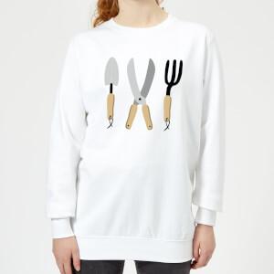 Garden Appliances Women's Sweatshirt - White