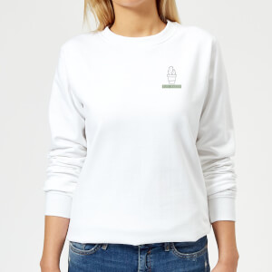 Pocket You Prick Women's Sweatshirt - White