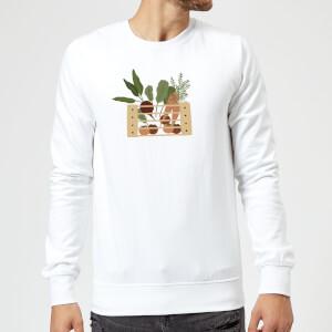 Vegetable Box Sweatshirt - White