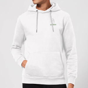 Pocket You Prick Hoodie - White