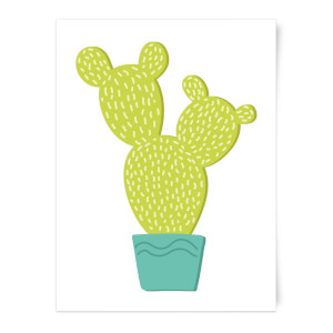 Tall Cactus Art Print