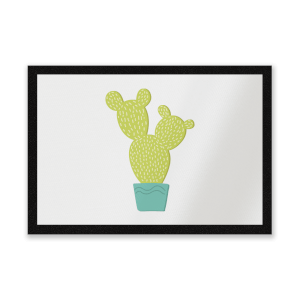Tall Cactus Entrance Mat