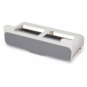 Joseph Joseph Cupboard Store Under-Shelf Spice Rack - Grey