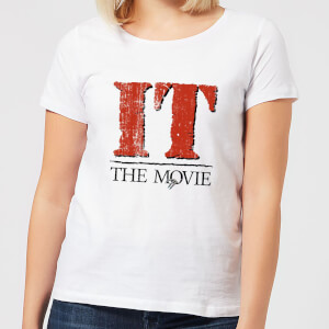 IT The Movie Women's T-Shirt - White