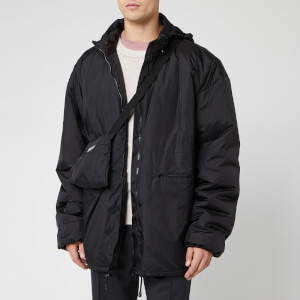 Maison Margiela Men's Recycled Nylon Sports Jacket - Black