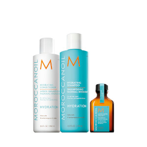 Moroccanoil Exclusive Hydration Bundle with Free Treatment (Worth AED230)