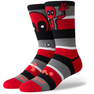 Stance Marvel Deadpool Stripe Socks