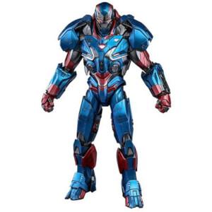 Figurine articulée moulée MMS Iron Patriot, Avengers: Endgame, échelle 1:6 (32cm)– Hot Toys