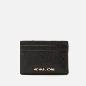 MICHAEL MICHAEL KORS Women's Jet Set Card Holder - Black