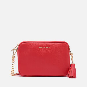 MICHAEL MICHAEL KORS Women's Jet Set Medium Camera Bag - Bright Red
