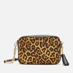 MICHAEL MICHAEL KORS Women's Jet Set Medium Camera Bag - Butterscotch