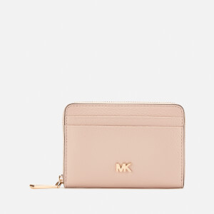 MICHAEL MICHAEL KORS Women's Mott Zip Around Coin Card Case - Soft Pink
