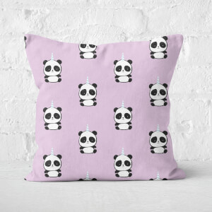 Pandacorn Pattern Square Cushion