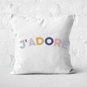 J'Adore Square Cushion
