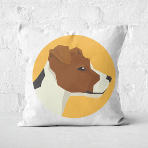Jack Russell Square Cushion