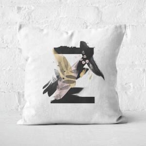 Wabi-Sabi Z Square Cushion