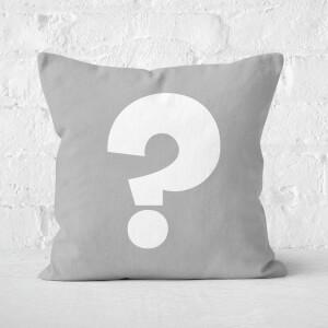 Grey ? Square Cushion