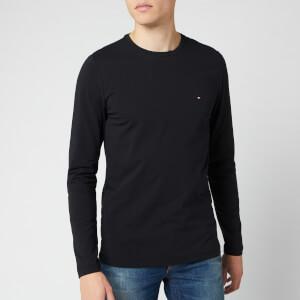 Tommy Hilfiger Men's Stretch Slim Fit T-Shirt - Jet Black