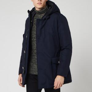 Woolrich Men's Artic Parka No Fur - Melton Blue