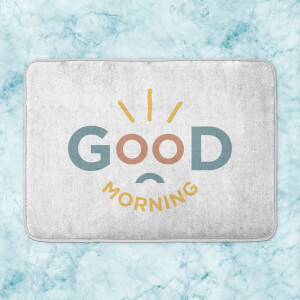 Good Morning Bath Mat