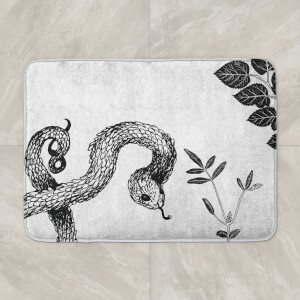 Snake And Botanicals Bath Mat