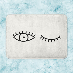 Wink Eye Bath Mat