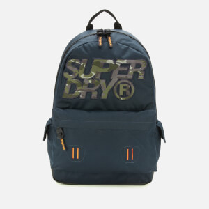 Superdry Men's Camo Infil Lineman Montana Backpack - Dark Navy