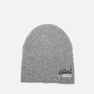 Superdry Men's Orange Label Beanie - Basalt Grey Grit