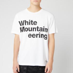 White Mountaineering Men's Printed T-Shirt White Mountaineering C - White