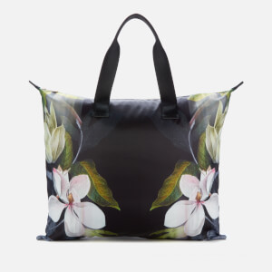 Ted Baker Women's Lilaac Opal Foldaway Shopper Bag - Black