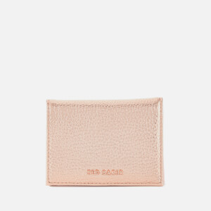 Ted Baker Women's Fayi Textured Oyster Card Holder - Rosegold