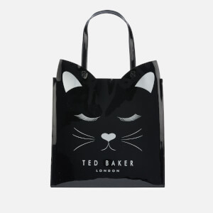 Ted Baker Women's Meowcon Cat Large Icon Bag - Black