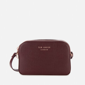Ted Baker Women's Daisi Soft Grain Camera Bag - Oxblood